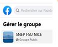 LE SNEP NICE SUR FACEBOOK